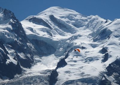 Mont Blanc Fly Over